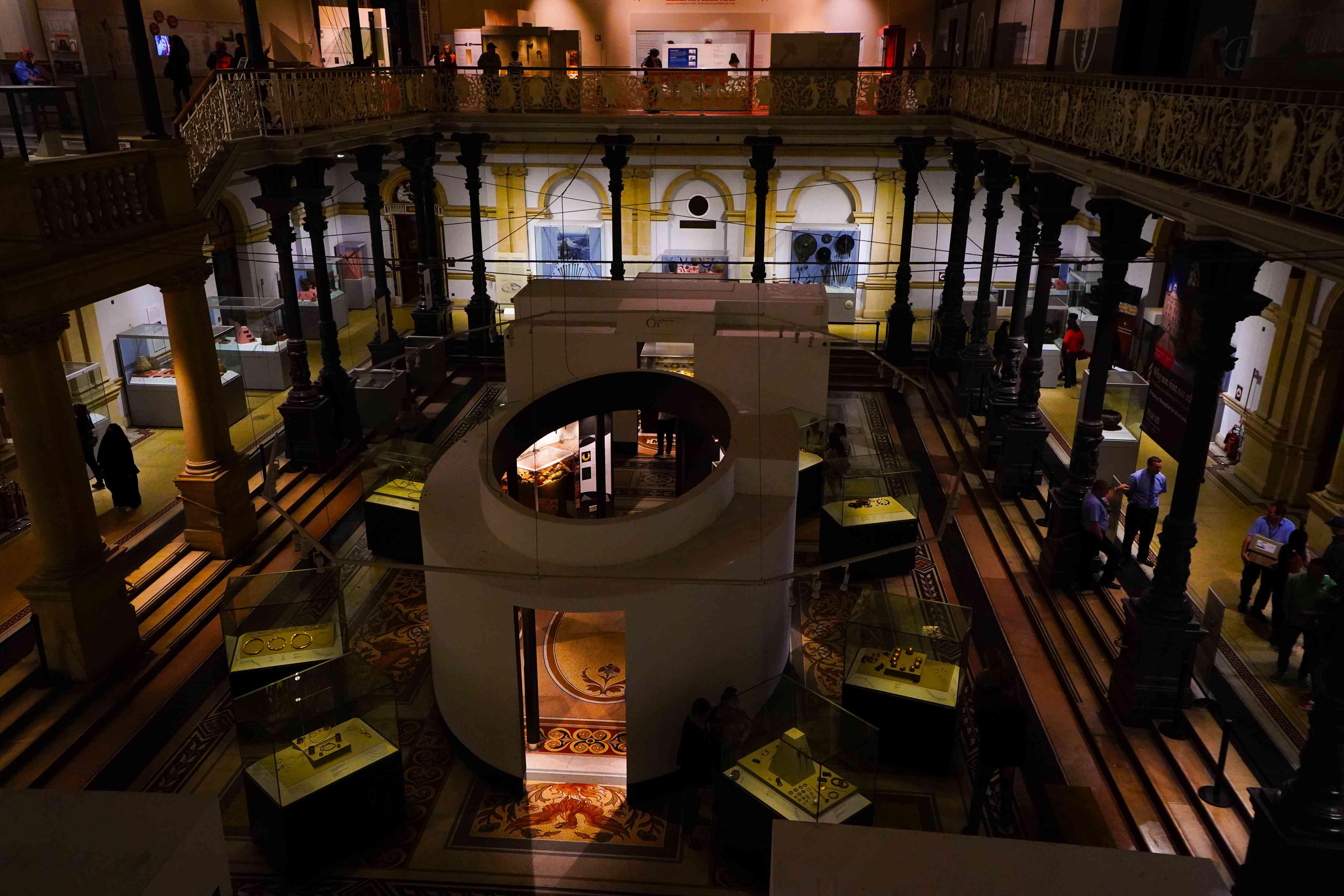 National Museum of Ireland in Dublin