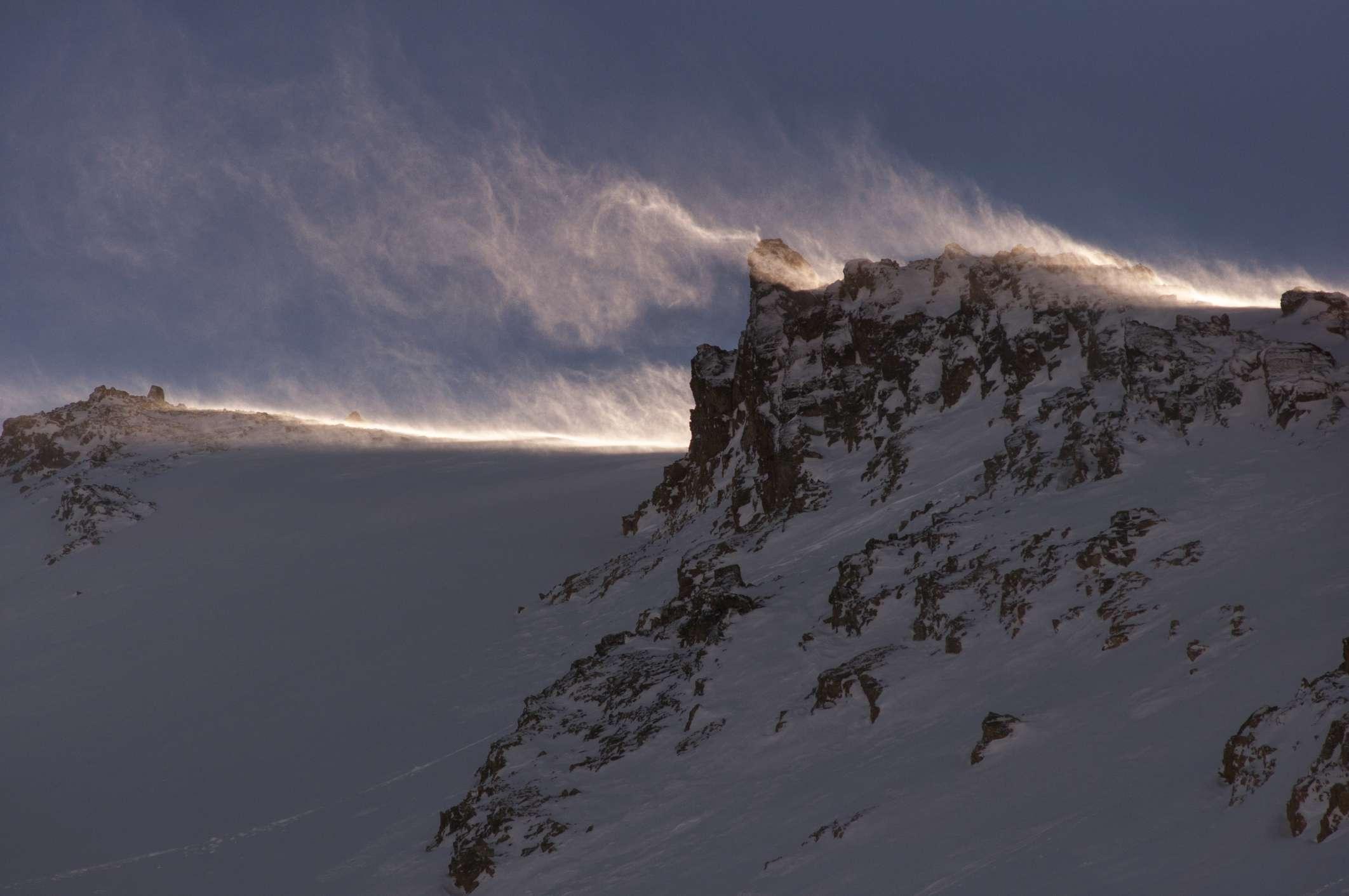 Pico de Montaña en Chubut