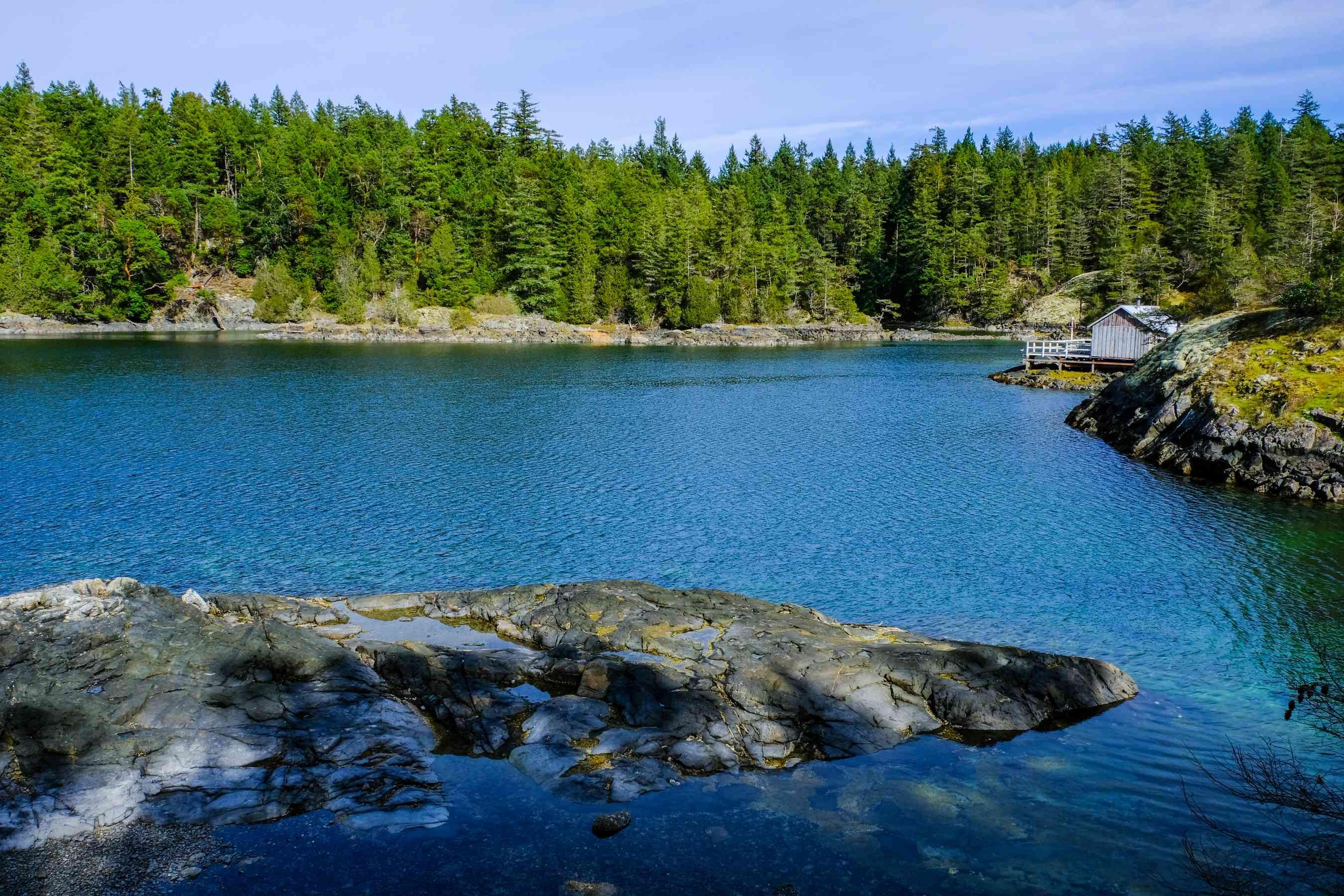 Blue waters on the Sunshine Coast