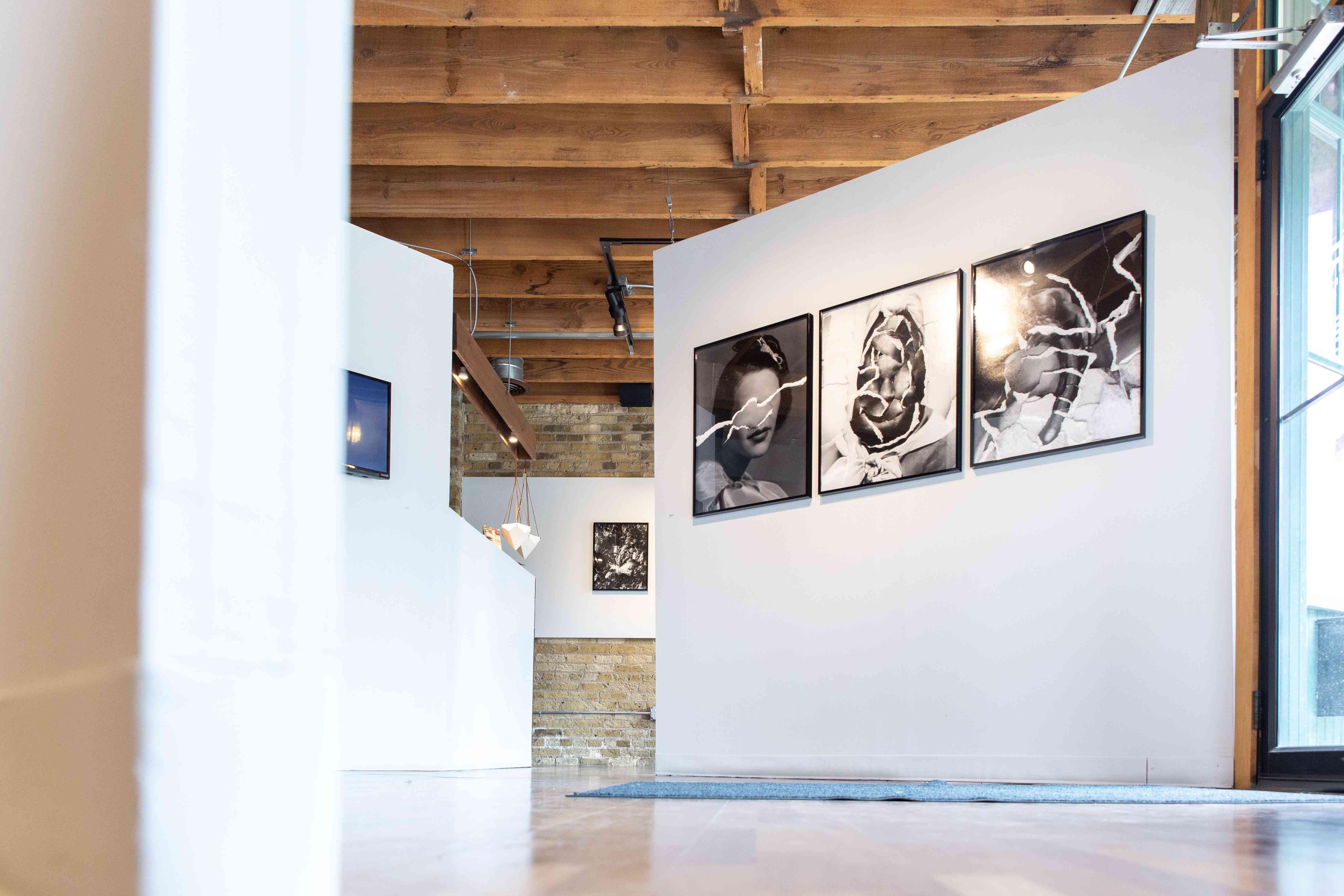View of exhibit in Var Gallery