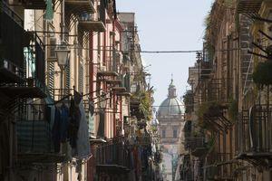 Italy, Sicily, Palermo, Church of Santa Catarina