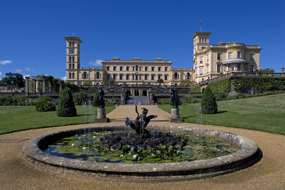 Victoria and Albert's Osborne House on the Isle of Wight