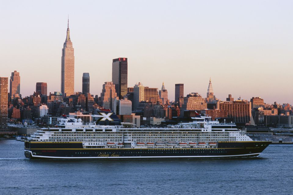 Cruise Ship in New York