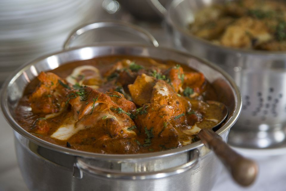 Butter chicken dish