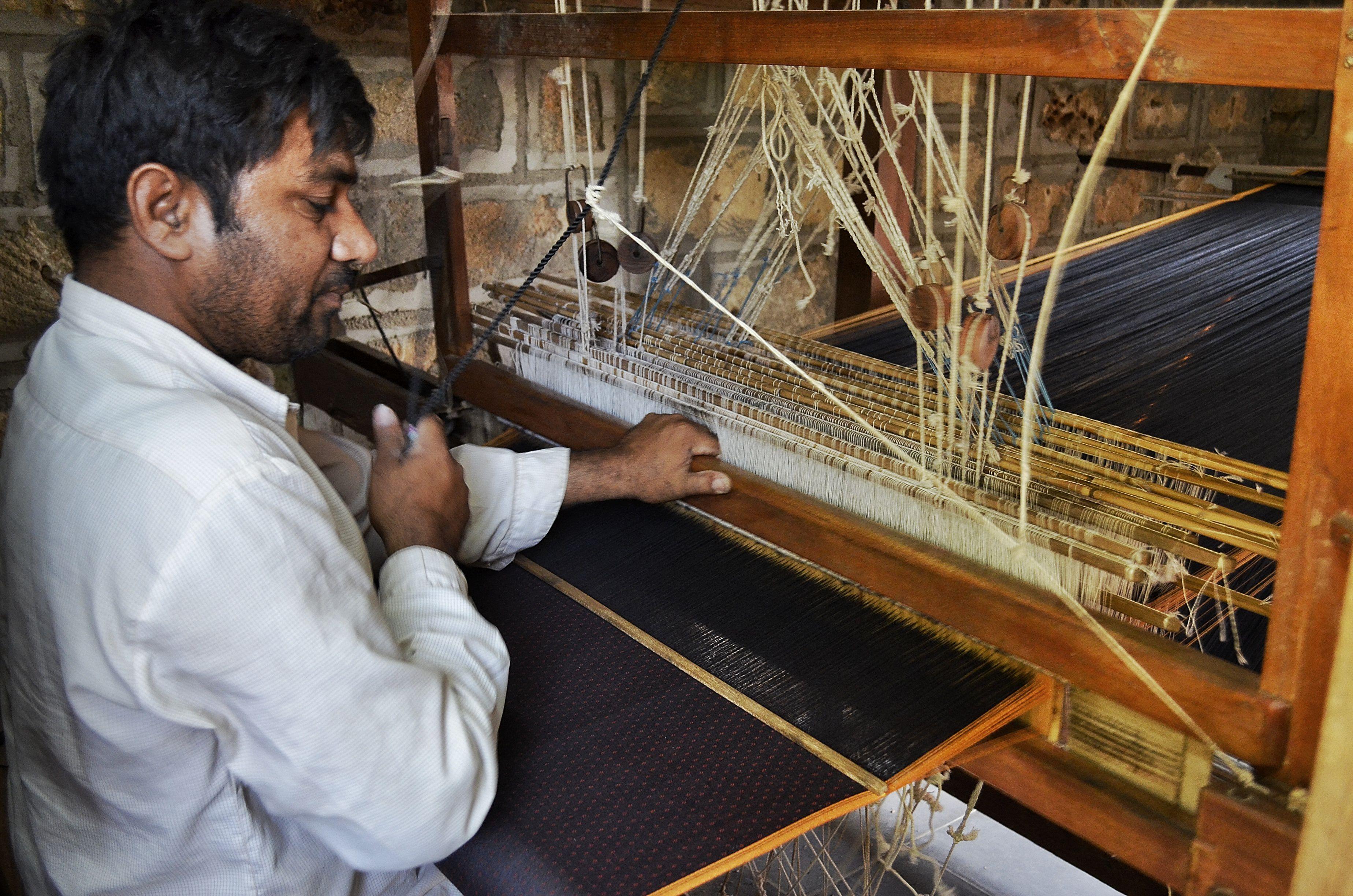 Mashroo weaver.