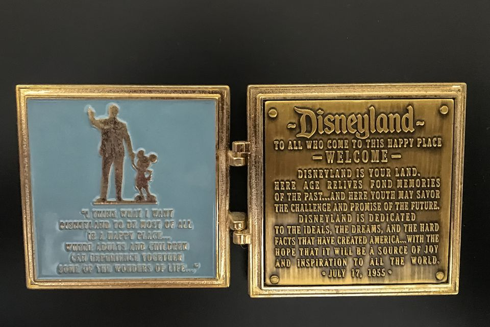 My Souvenir from the Walk in Walt's Footsteps Tour