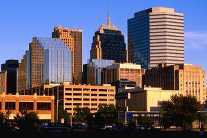 City skyline from southwest.