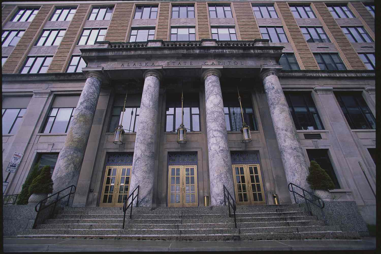Exterior of the Alaska State Capitol Building