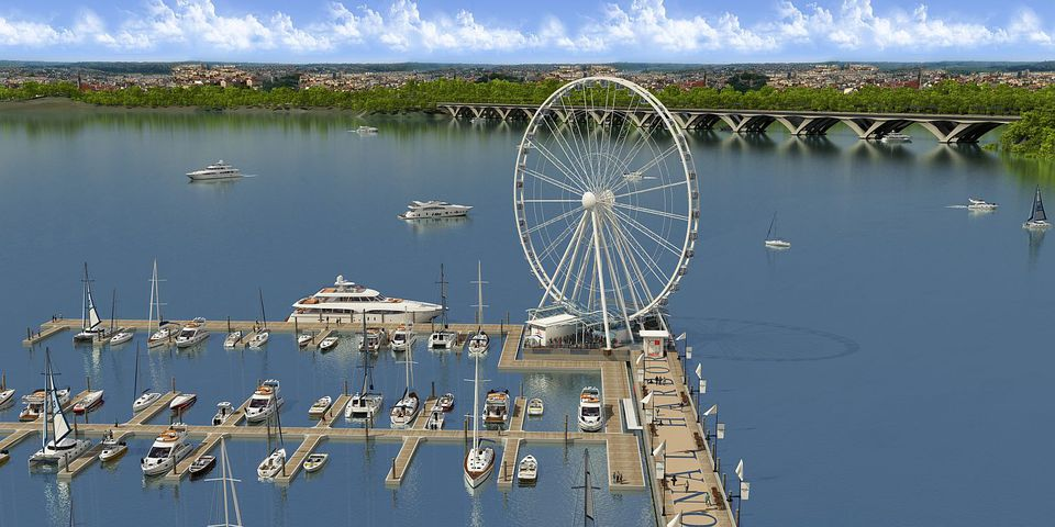 Rendering of National Harbor Capital Wheel