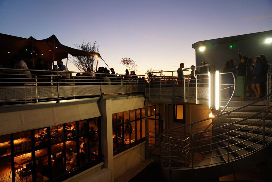 The Perchoir is one of Paris' coveted rooftop bars
