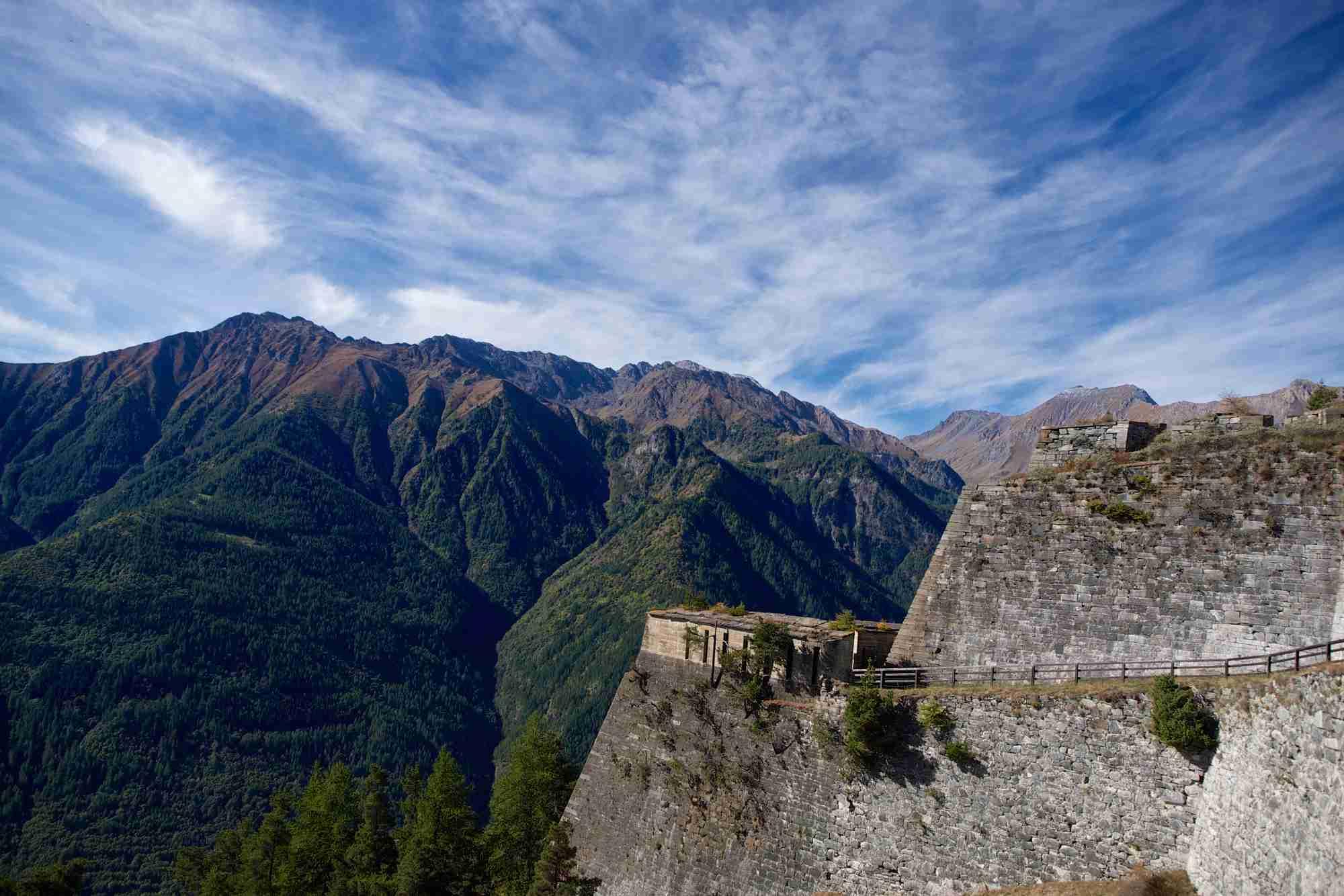 Forte di Fenestrelle, Val Chisone