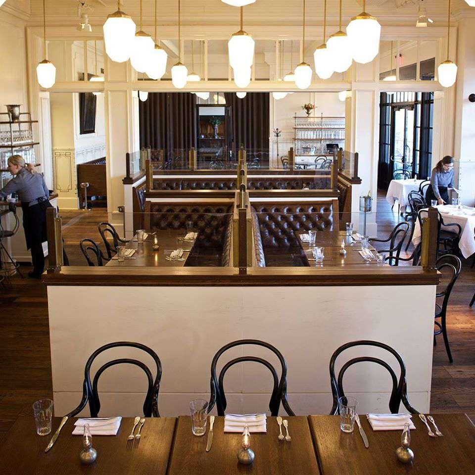 interior de Supper American Eatery