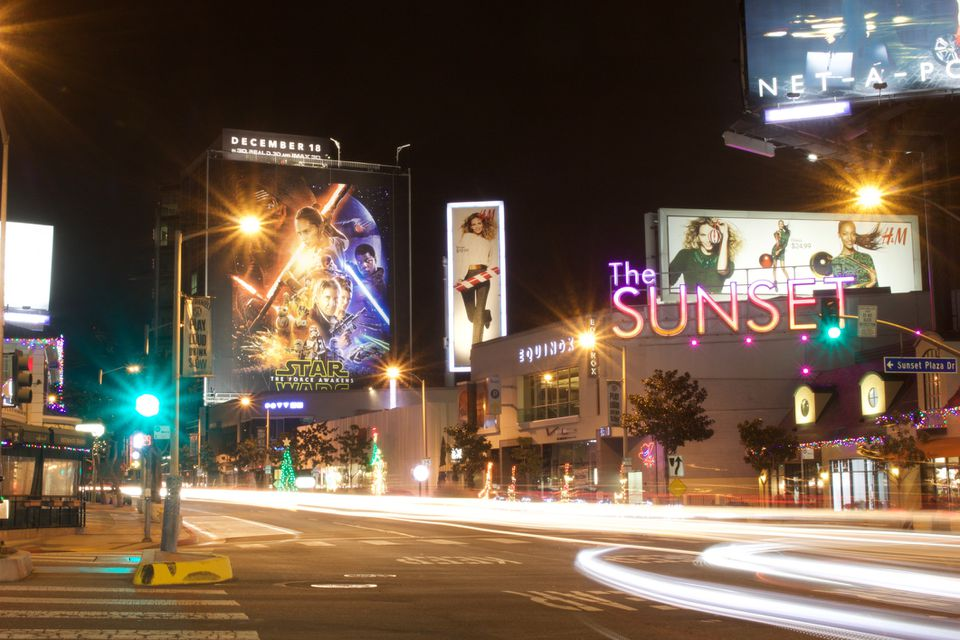 Evening on the Sunset Strip