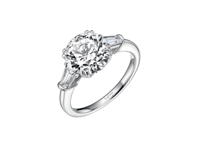 Lafonn Lassaire Three Stone Ring