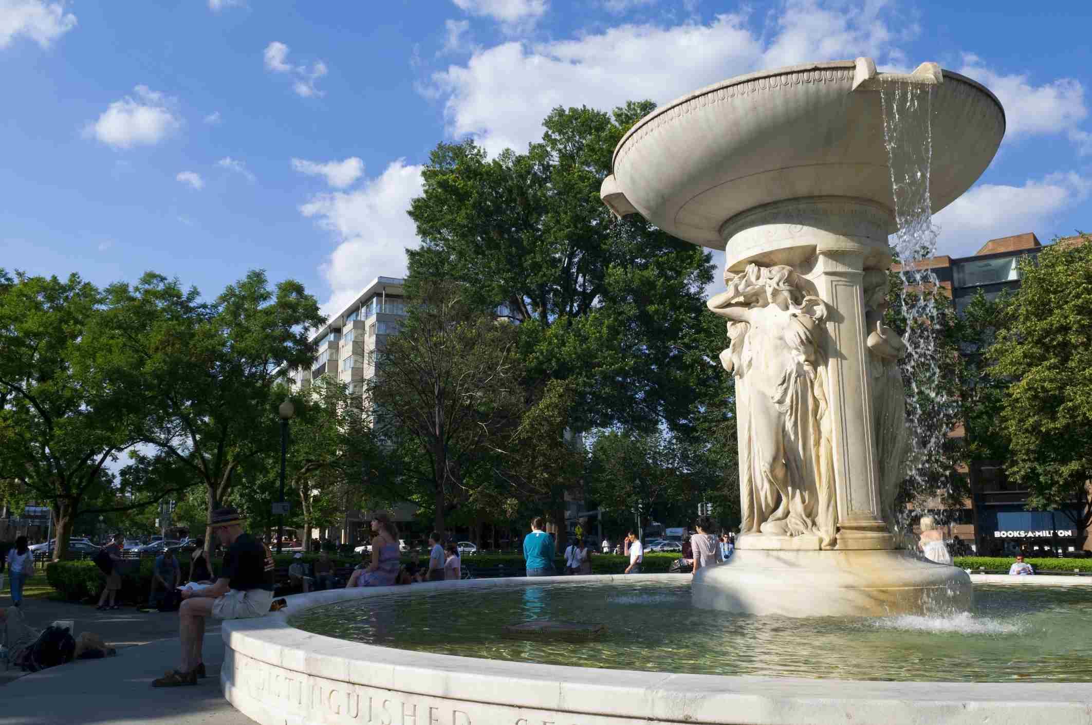 Dupont Circle fountain
