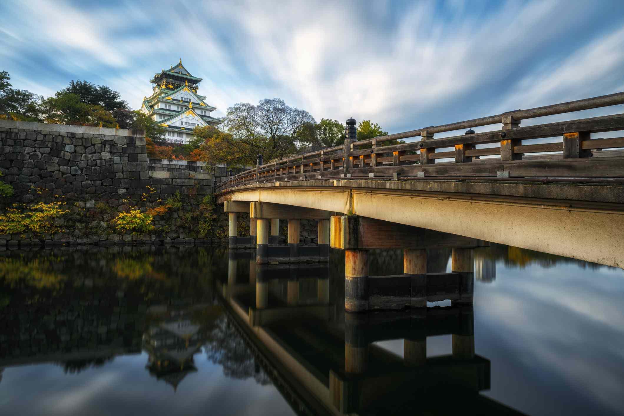 Osaka Castle in Morning