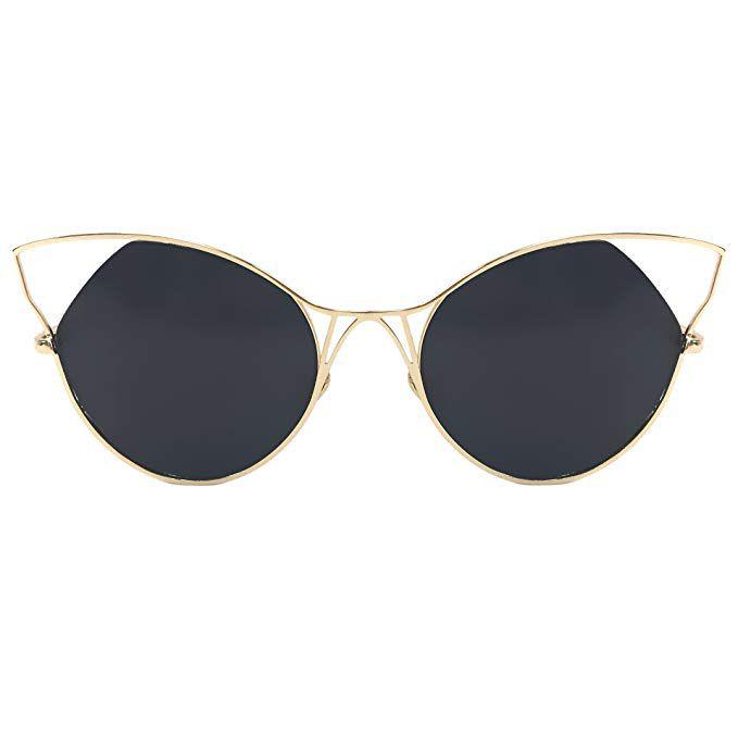 TopFoxx Indecent High Fashion Cateye Sunglasses for Women