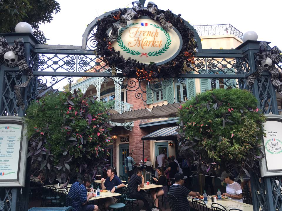 French Market Restaurant at Disneyland