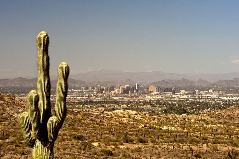 Phoenix, de South Mountain, Arizona