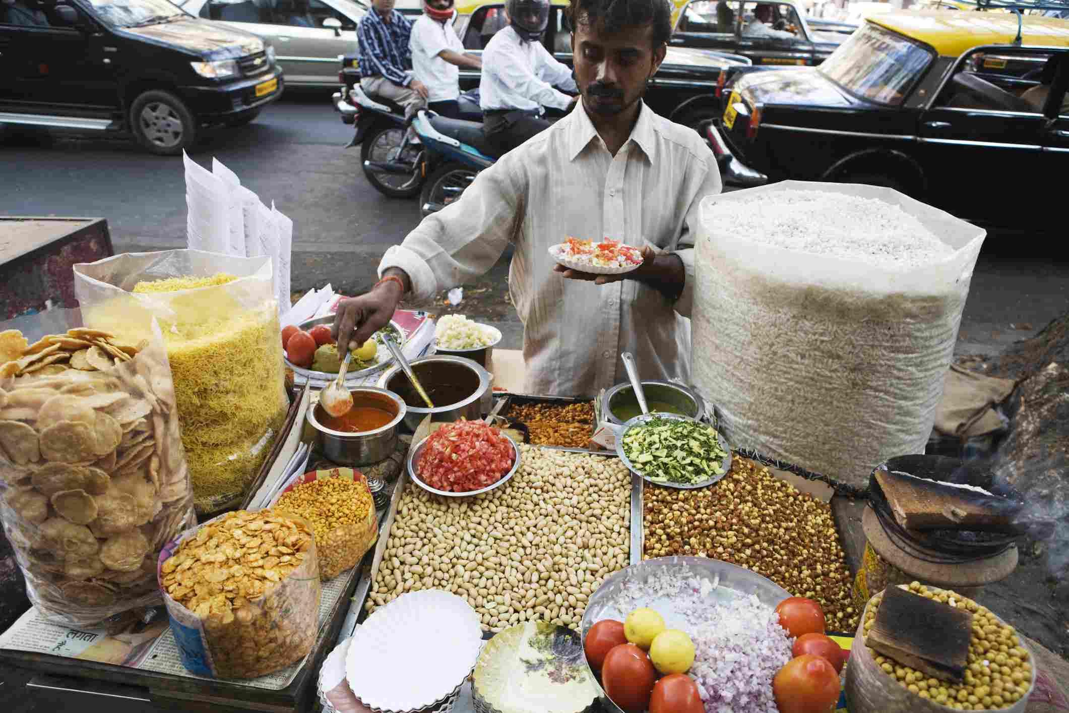 Mumbai street food.