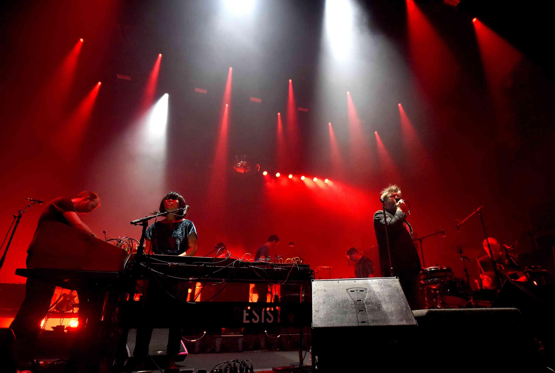 LCD Soundsystem Performs At Bill Graham Civic Auditorium