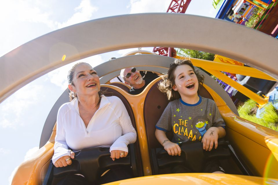 Celebrities Preview Toy Story Land at Walt Disney World Resort