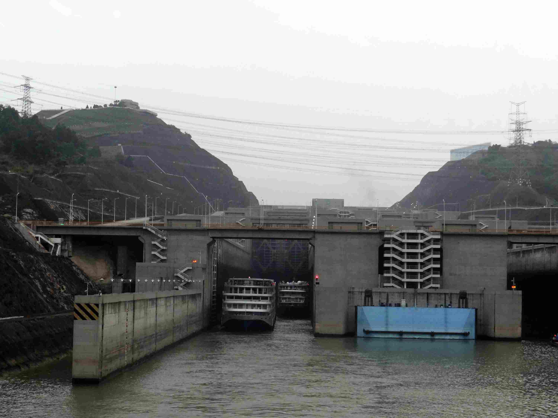 Three Gorges Dam on the Yangtze River
