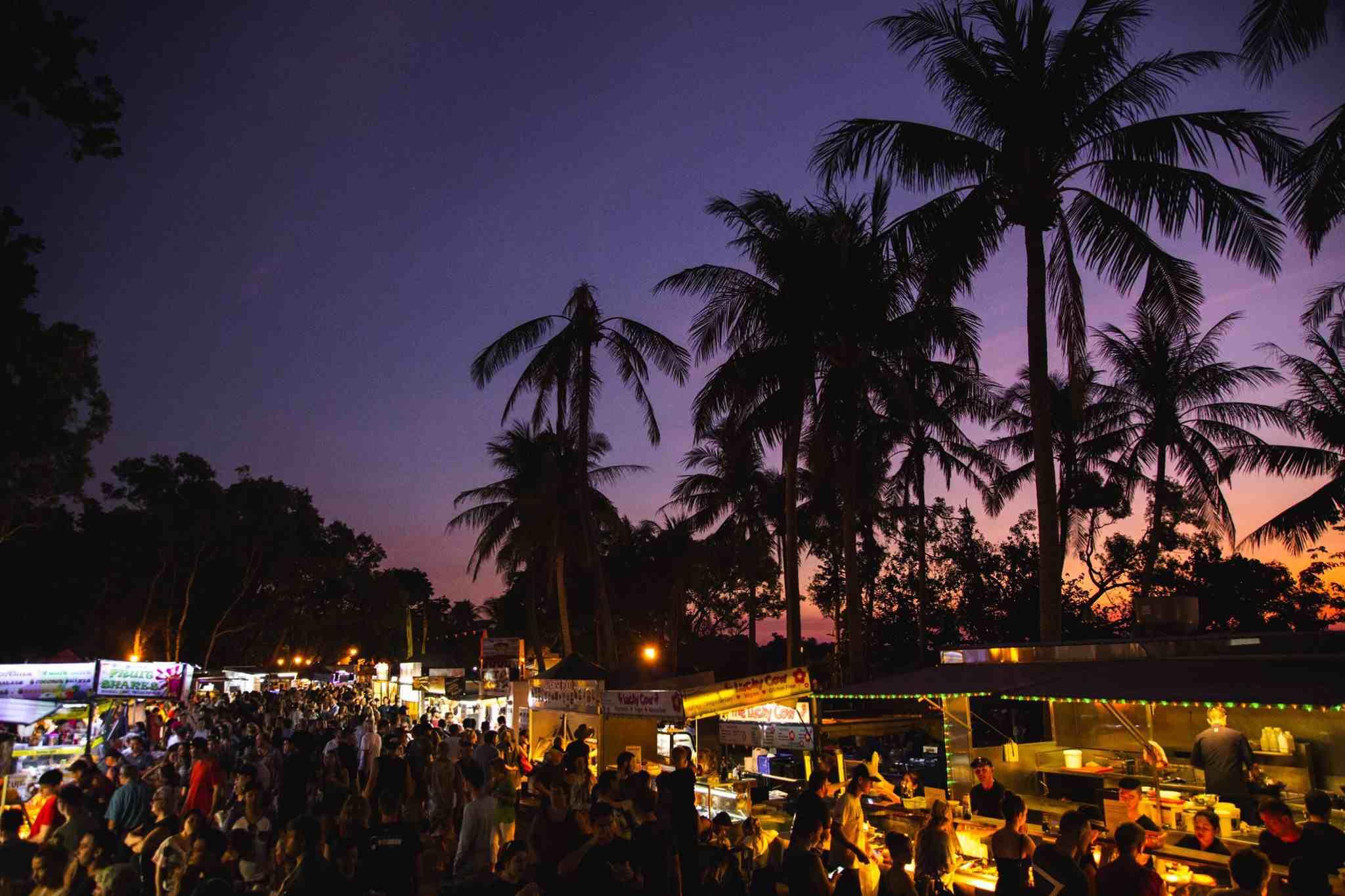 Mercado Mindil Beach Sunset Market