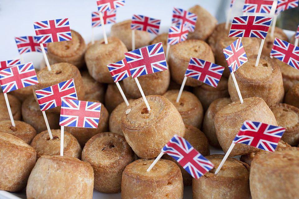 British baked goods