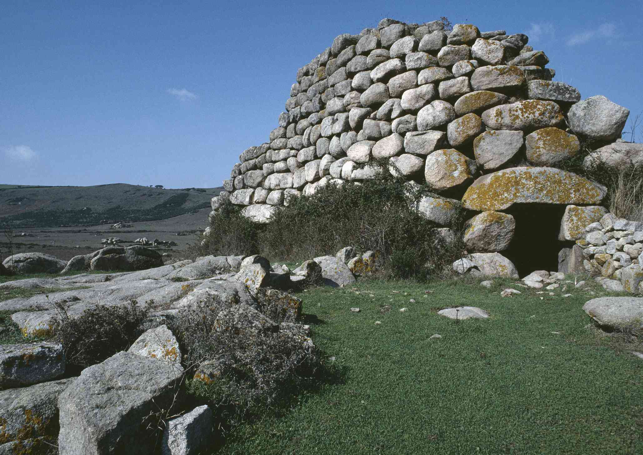 Nuraghe Izzana ruins, Sardinia