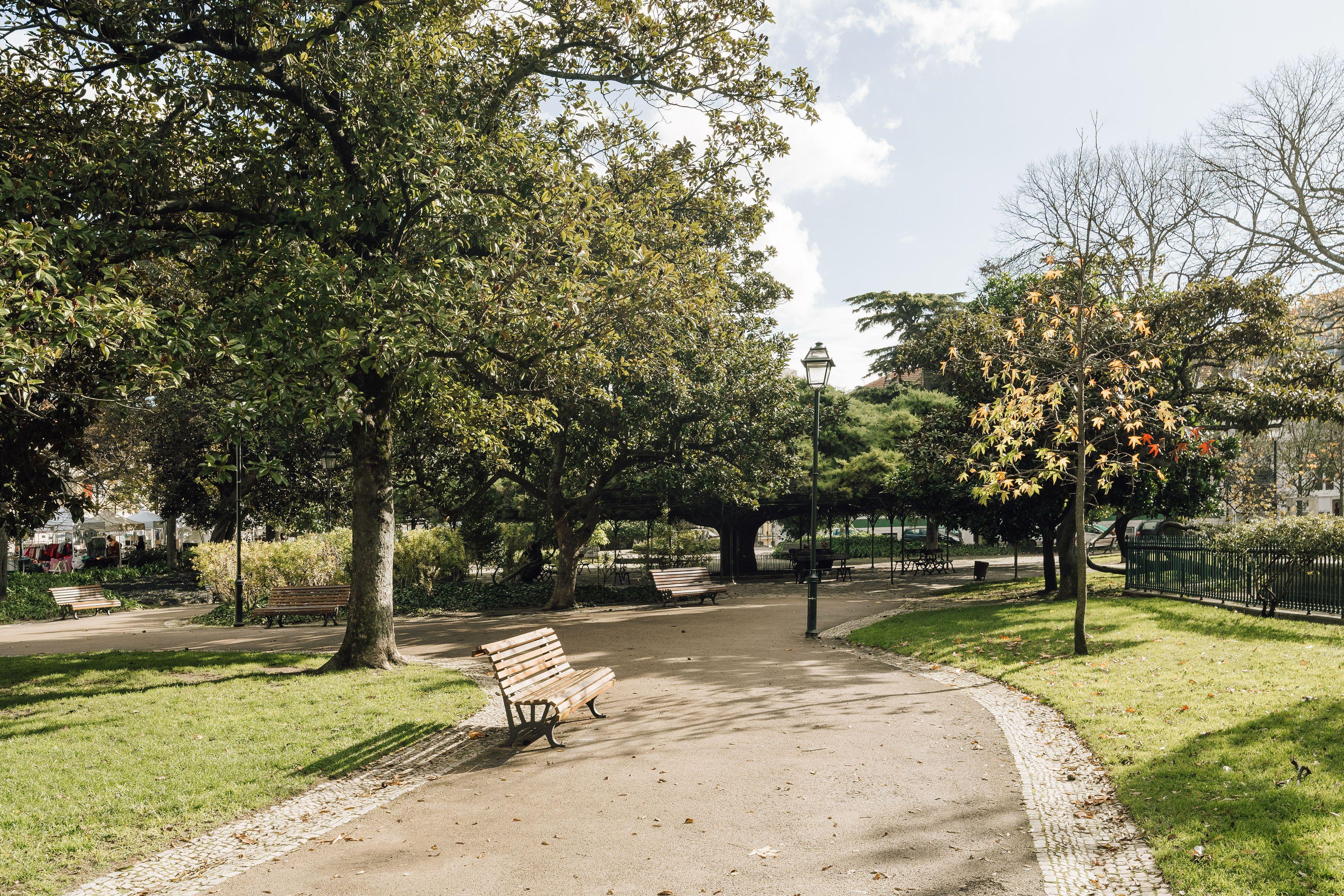 A park in Lisbon