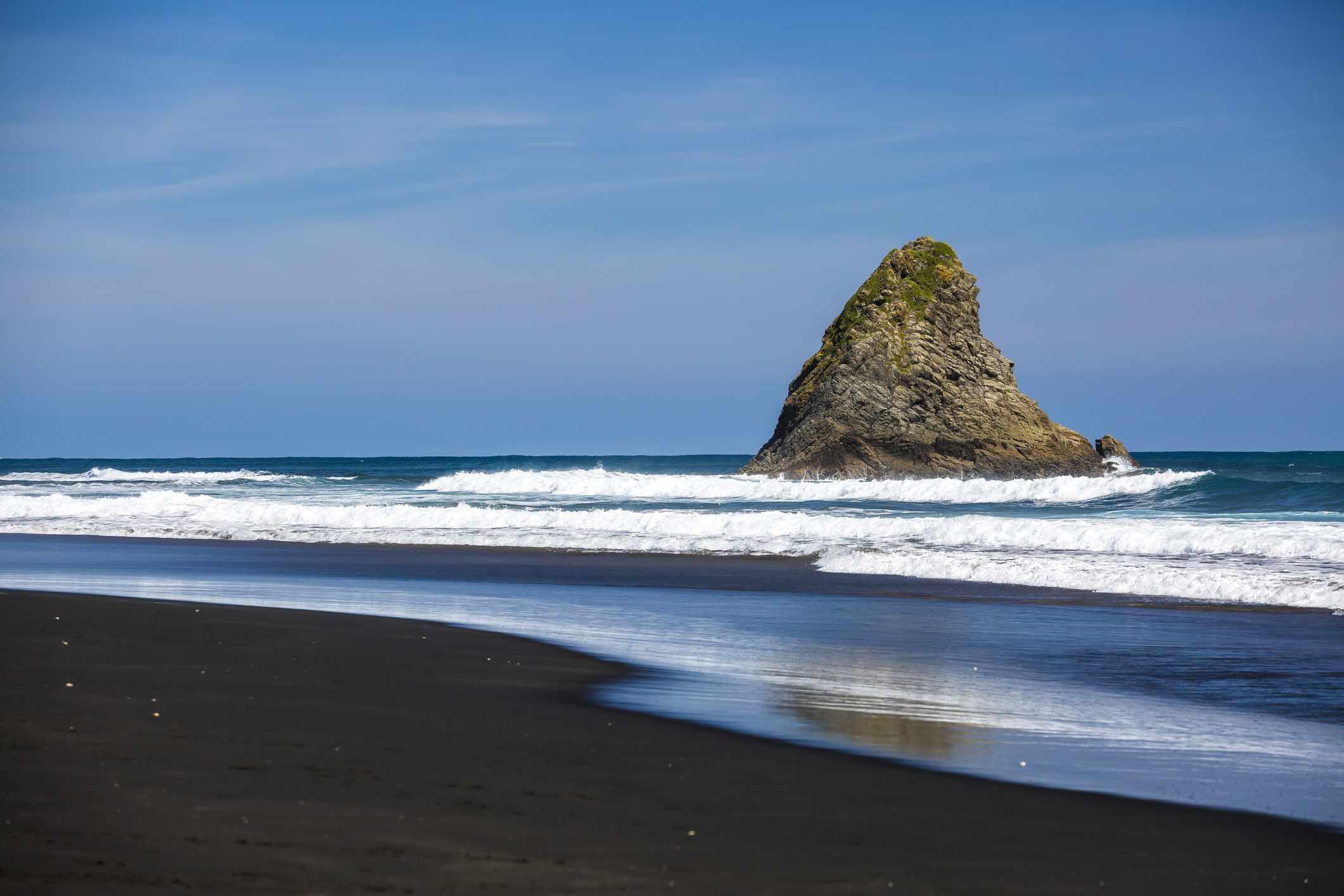 Playa Karekare , Karekare, Nueva Zelanda