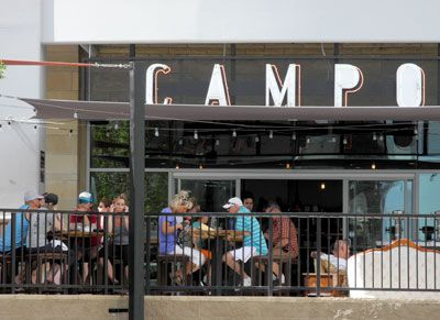 Campo restaurant, dining in downtown Reno, Nevada, NV