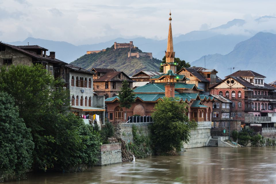 Srinagar, Old City.