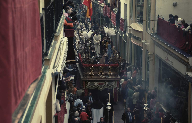 Procesión de Semana Santa en Andalucía, España