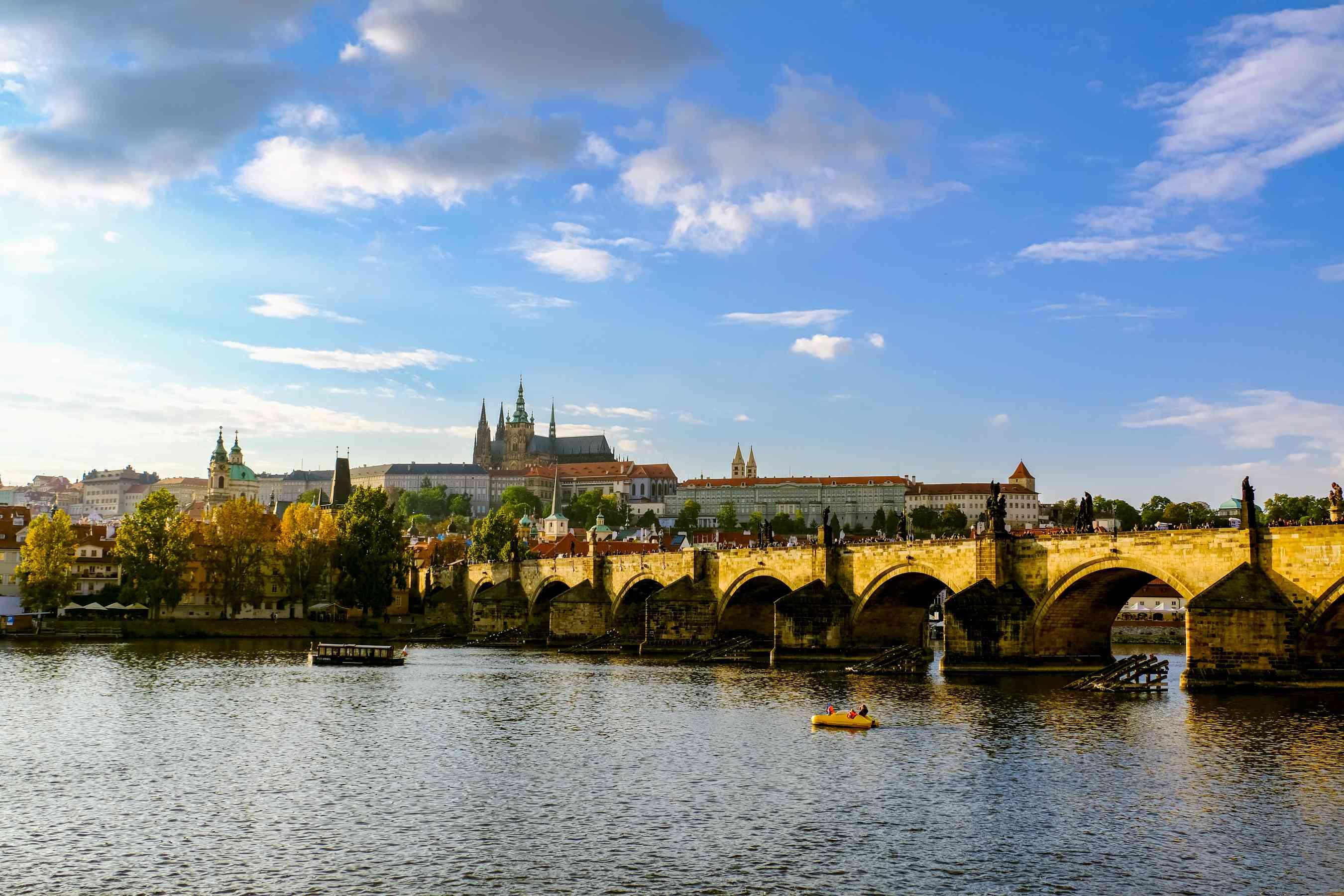 Vista de Praga desde el Puente de Carlos
