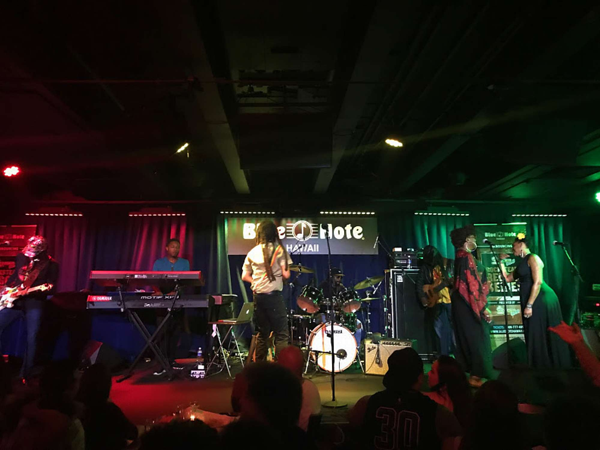 The Wailers in concert at Blue Note Waikiki
