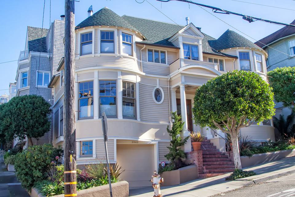 Mrs Doubtfire House In San Francisco