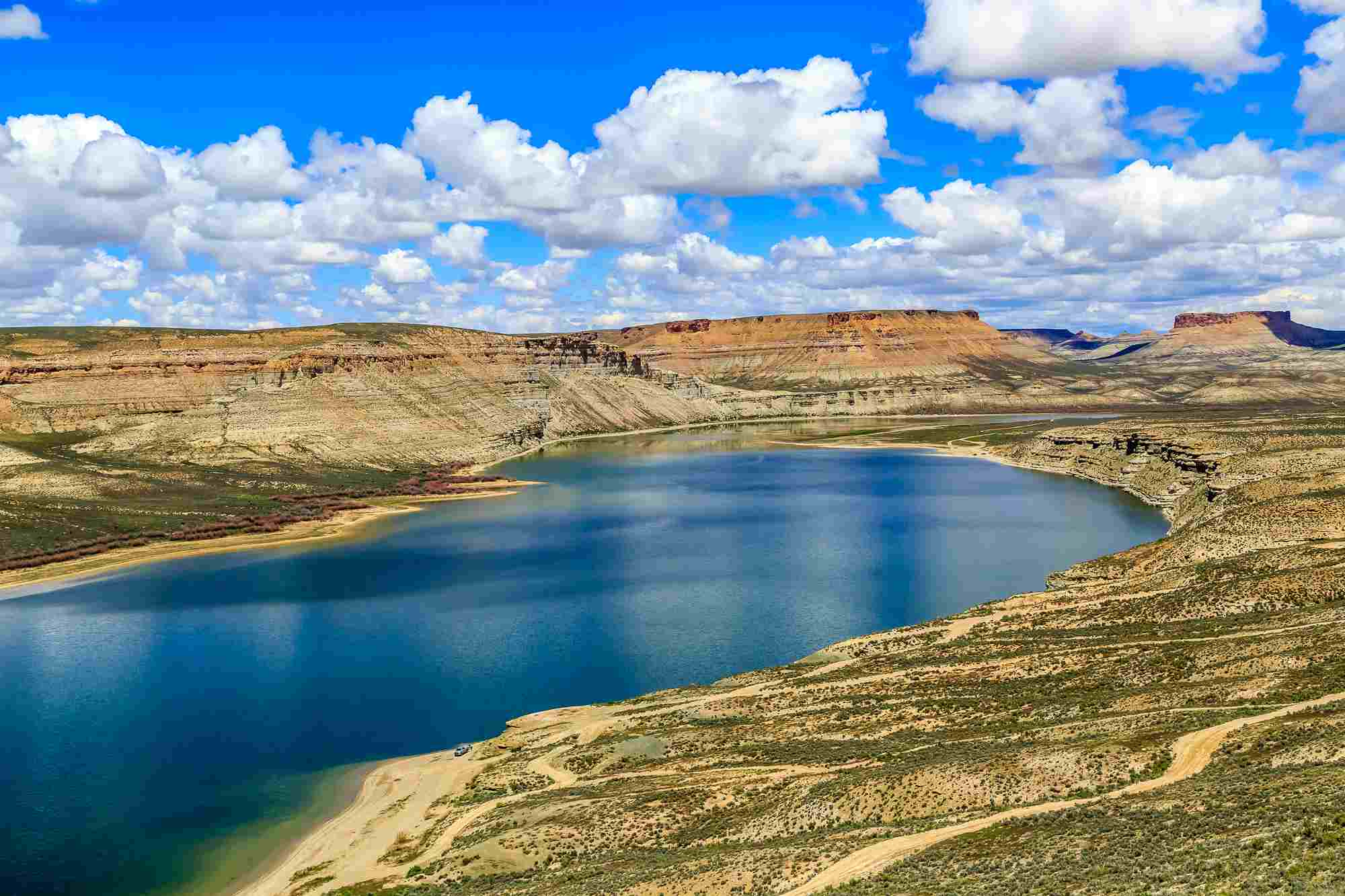 Flaming Gorge Wyoming ( Big Fire Hole )