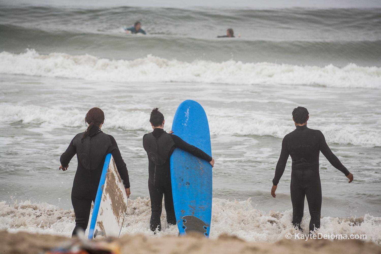 Surfing Lesson in Santa Monica