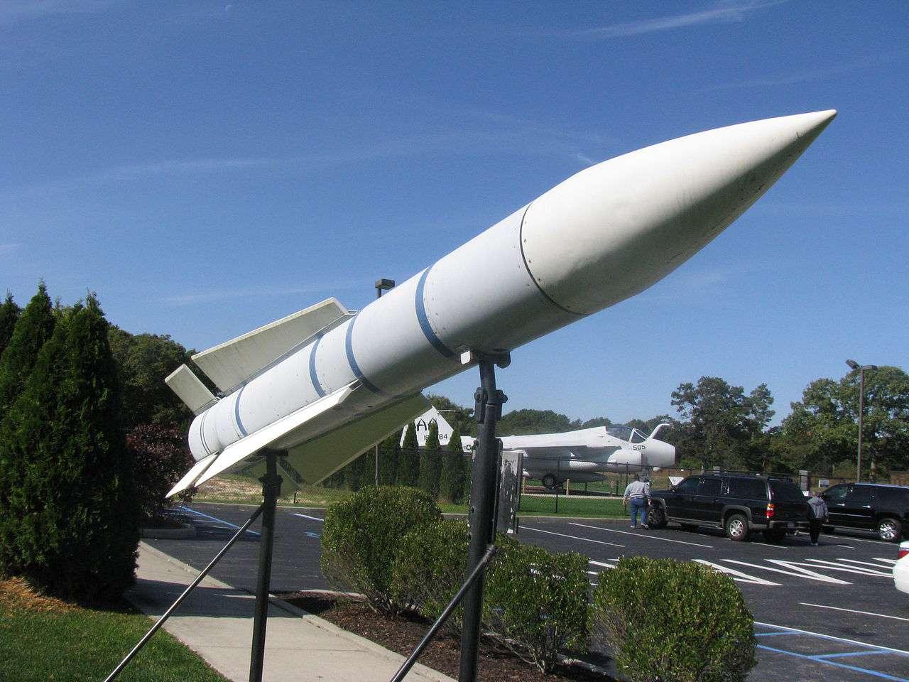 Phoenix missile at Grumman Memorial Park