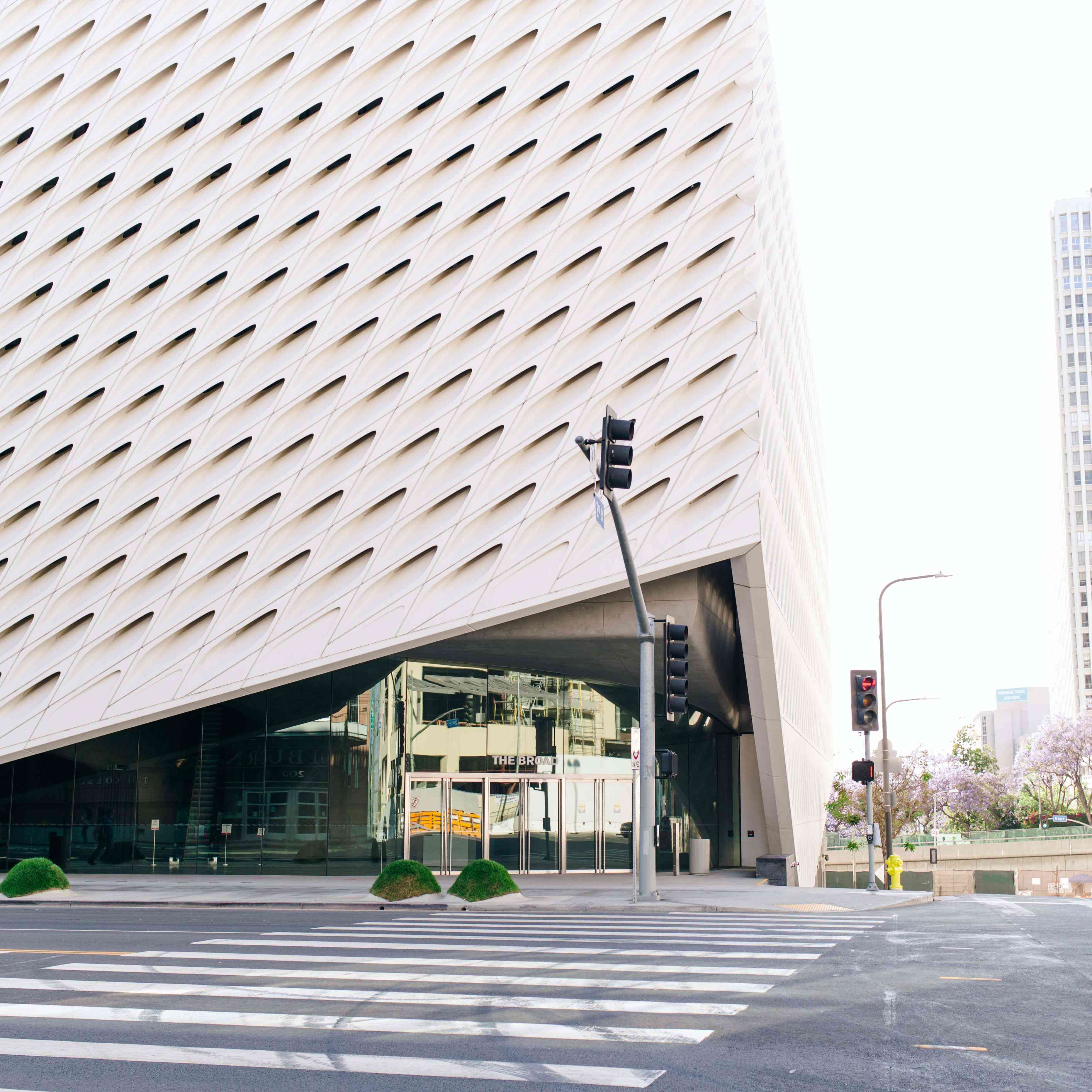 The Broad Museum, Los Angeles, CA