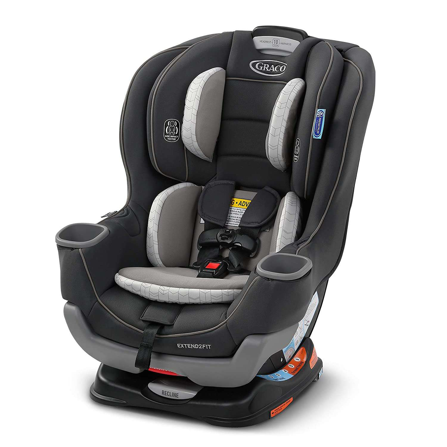 Graco Extend2Fit Convertible Car Seat | Ride Rear Facing Longer with Extend2Fit, Redmond