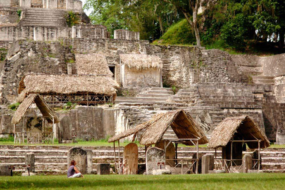 Mayan ruins near Chaa Creek.