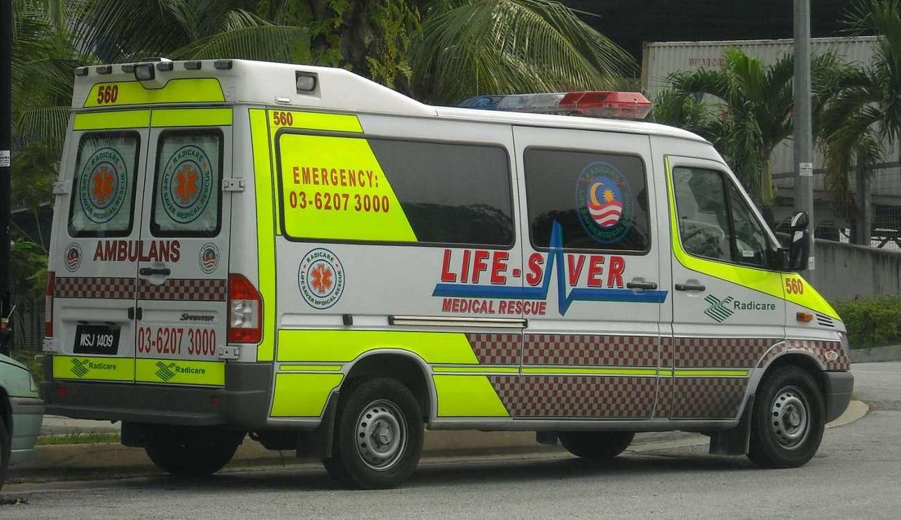 Ambulance in Kuala Lumpur, Malaysia