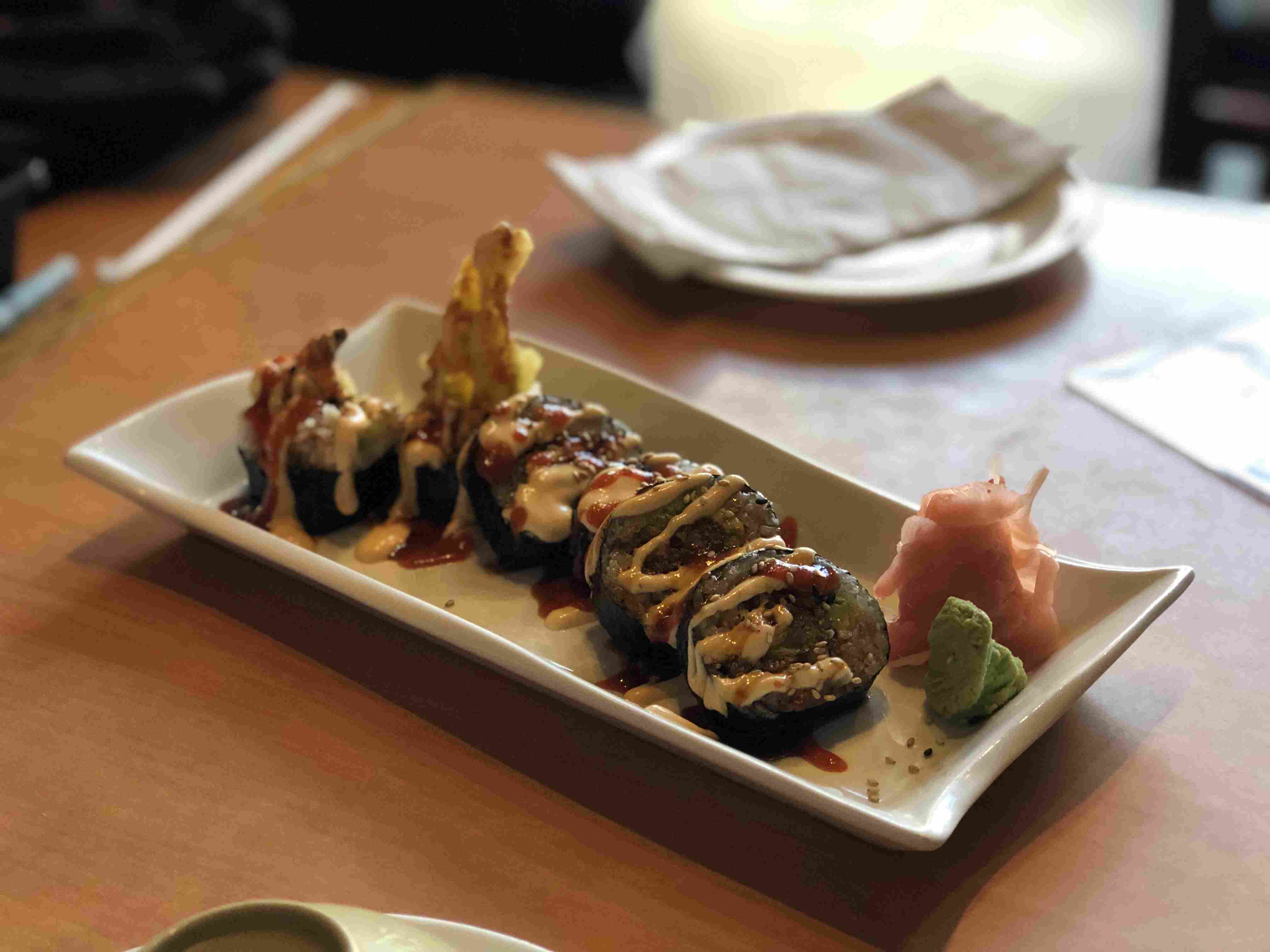New Mexico Roll at Sushi King