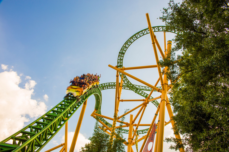 Cheetah Hunt coaster Busch Gardens Tampa