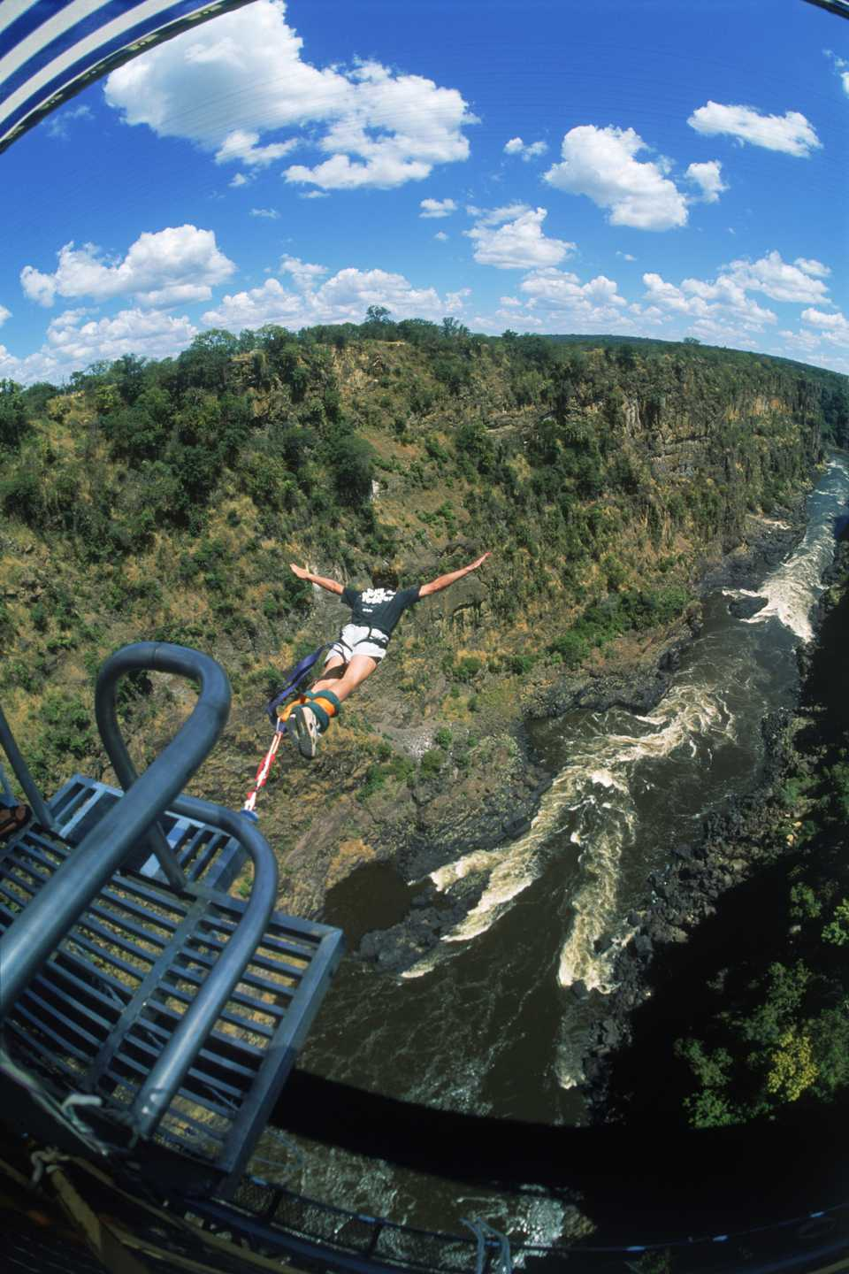 Bungee Jumping In Africa Victoria Falls Bloukrans