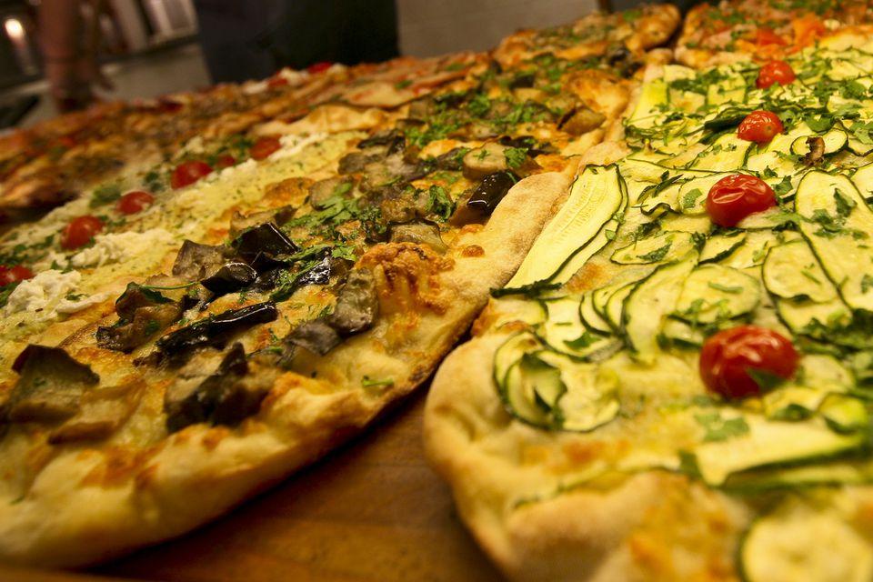 Pizza italiana tradicional