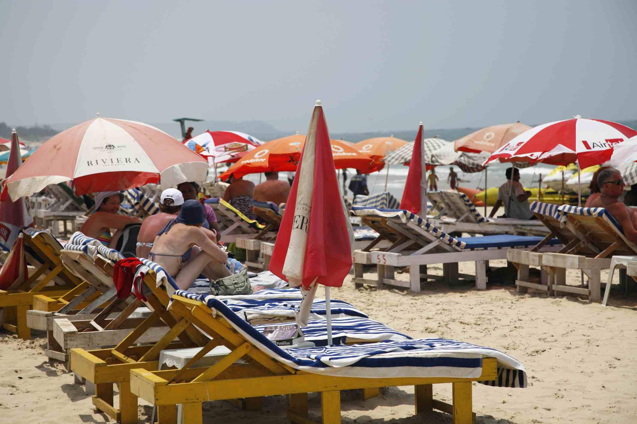 Playa Baga, Goa